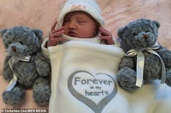 A four-month-old baby who died because of extremely damaged injuries' when she was two days old, parents are released on bail after being arrested on a suspicious murder to the infant