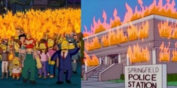 People think The Simpons predicted George Floyd's death, Black Lives Matter protests